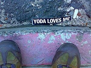 Yoda loves me.
