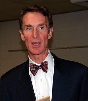 English: Bill Nye - Taken at Bridgewater State...