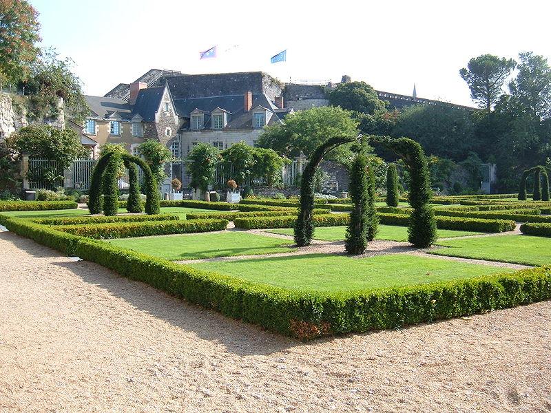 Château d'Angers gardens 2