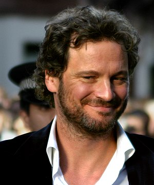 Colin Firth at the Nanny McPhee London premiere