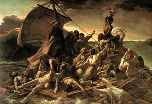 Géricault 's painting The Raft of the Medusa