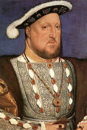 Hans Holbein d. J. - Portrait of Henry VIII - ...