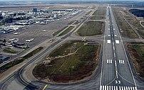 Helsinki-Vantaa Airport, runway 33.