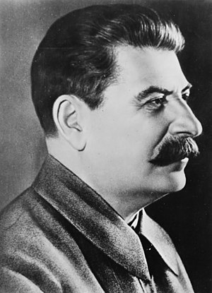 English: Joseph Stalin, Secretary-general of t...