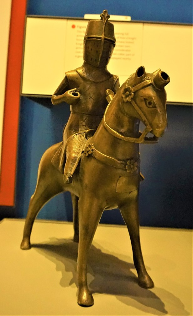 Knight Aquamanile - British Museum - Joy of Museums