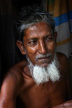 Bangladeshi man in Dhaka.