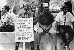 The civil rights march from Selma to Montgomer...