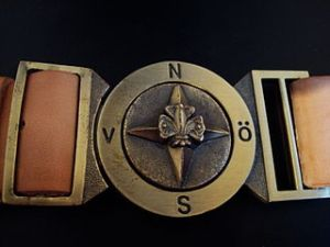 A Swedish Explorer Belt belt.