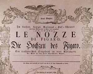 An original poster for Wolfgang Amadeus Mozart...