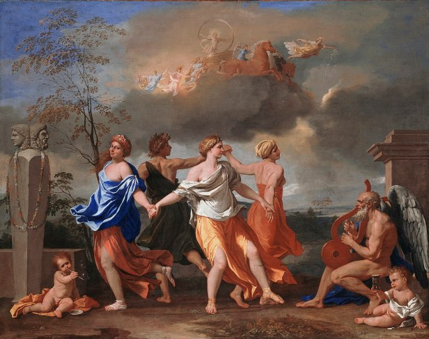 """A Dance to the Music of Time"" by Nicolas Poussin"