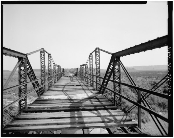 File:VIEW OF EAST APPROACH TRUSS, EAST TRUSS, CENTRAL ...