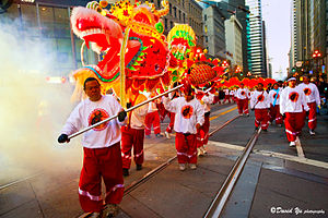 Year of Ox Chinese New Year Parade San Francis...