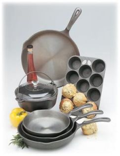 English: Wagner Cast Iron Cookware - MADE IN U...
