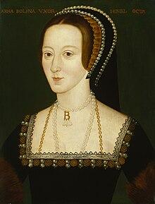 9bc1d1e0a آن بولين (1507-1536), الزوجة الثانية للملك هنري الثامن, والدة الملكة ...