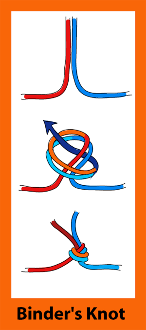Binder's knot
