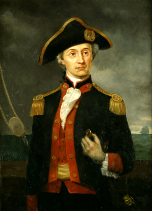 John Paul Jones, the Continental Navy's first ...