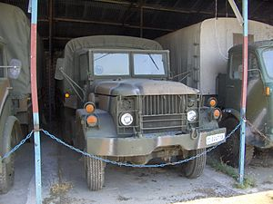 Greek Army Vehicle 1