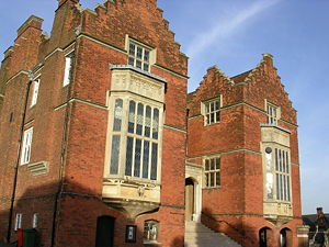 English: The Old Schools at Harrow School in H...