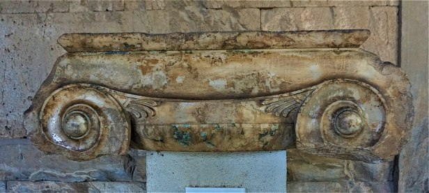 Ionic Column Capital 5th Century BC - Museum of the Ancient Agora - Joy of Museum