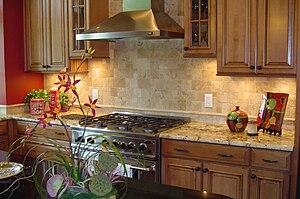English: Kitchen Interiors from Eddie Rider De...