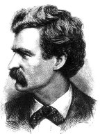 Mark Twain picture from Appleton's Journal Jul...