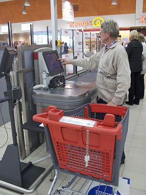 Self-service checkouts