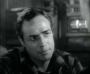 Marlon Brando in a screenshot from the trailer...