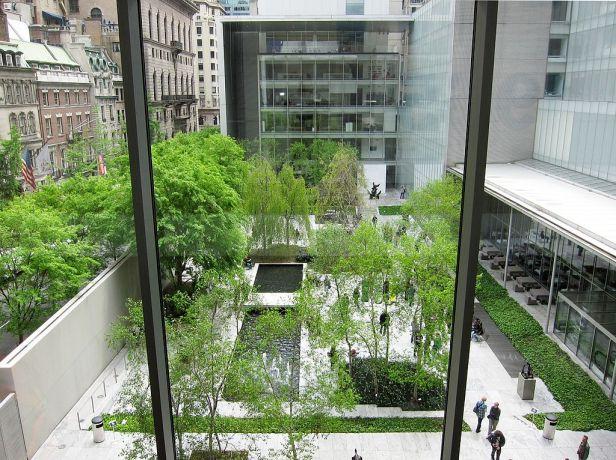 NY Moma jardin