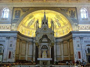 English: Basilica of Saint Paul Outside the Wa...