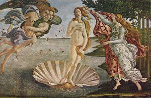 The Birth of Venus.