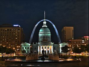 The Jefferson National Expansion Memorial, inc...