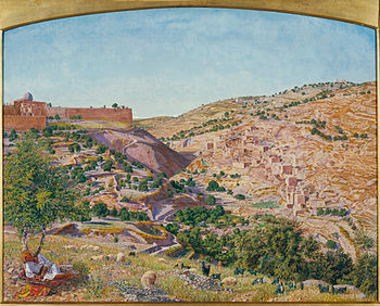 Thomas Seddon - Jerusalem and the Valley of Je...