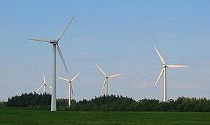Wind turbines (Vendsyssel, Denmark)