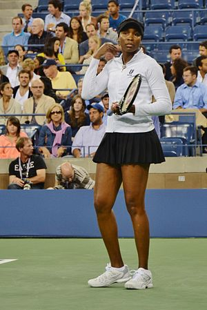 Venus Williams at the 2011 US Open
