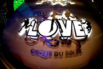 Cirque du Soleil, Love in Mirage, Las Vegas