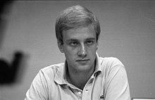 Ole von Beust auf dem CDU-Bundesparteitag 1981 in Hamburg
