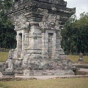 English: The Candi Angka Tahun at the Panatara...