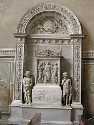 Cappella castellani, monum. a luisa stolberg (...