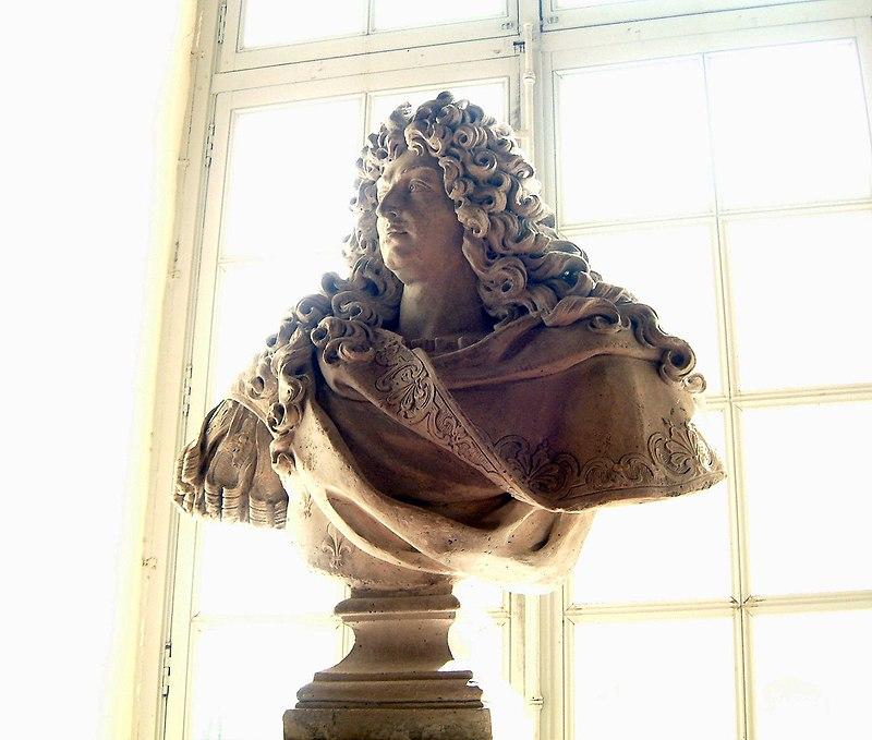 Château de Chambord buste Louis XIV