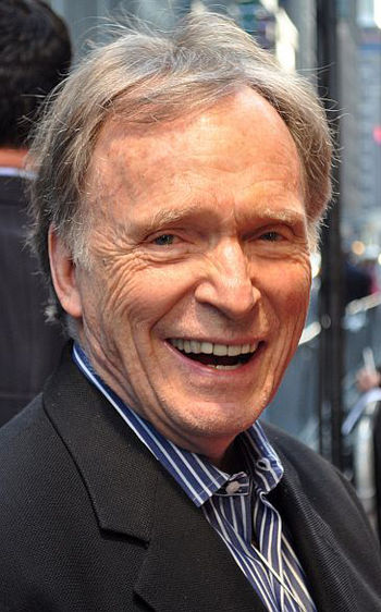 English: Dick Cavett attending the premiere of...