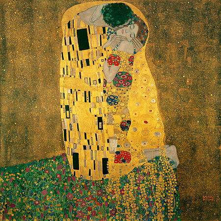 Image result for the kiss painting