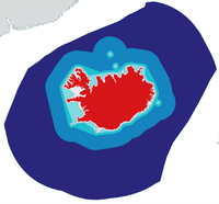Islands territorialvattengränser