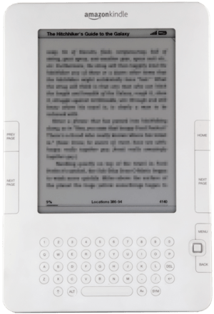 The Amazon Kindle 2
