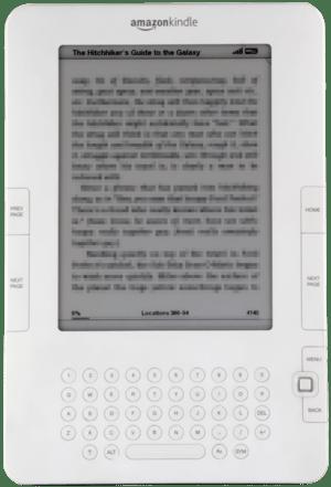 The Amazon Kindle 2
