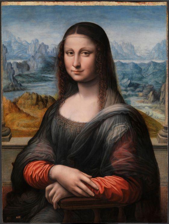 La Gioconda (copia del Museo del Prado) (restaurada)
