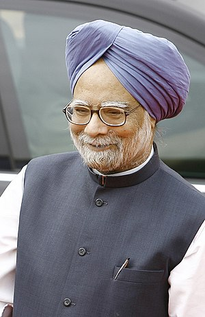 Dr Manmohan Singh,  Prime Minister of India.