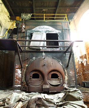 Industrial Furnace from 1907