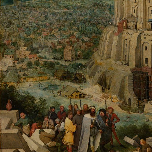 Pieter Bruegel the Elder - The Tower of Babel (Vienna) - Google Art Project-x0-y1