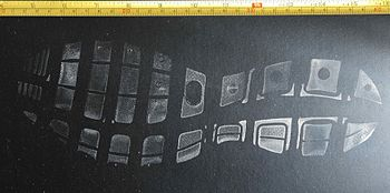 Photograph of a footwear impression / shoeprin...
