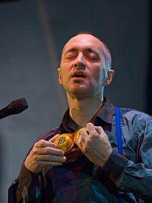 English: Theo Bleckmann, moers festival 2008